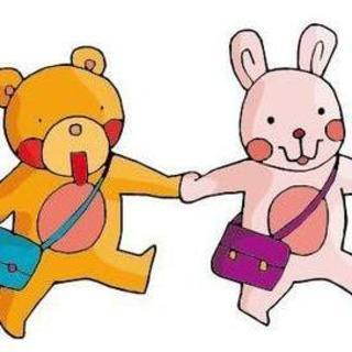 小熊和小兔子的可爱童话(主播:小兔子)