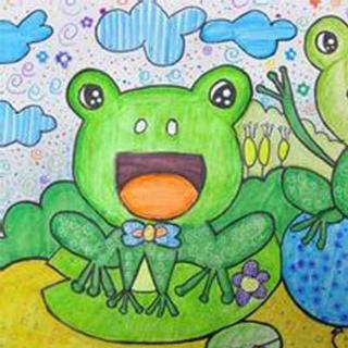 快乐的一只小青蛙_咖啡逗逗