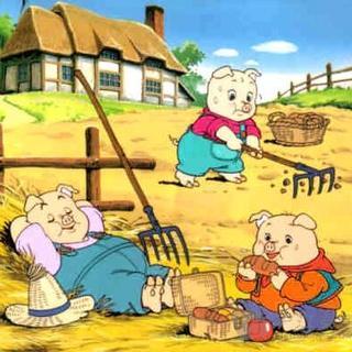 三只小豬蓋房子_幼寶講故事