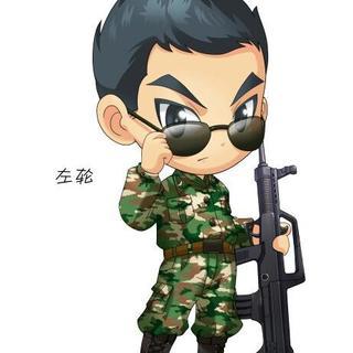军人漫画图片铅笔画