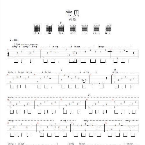 ukulele girl谱子