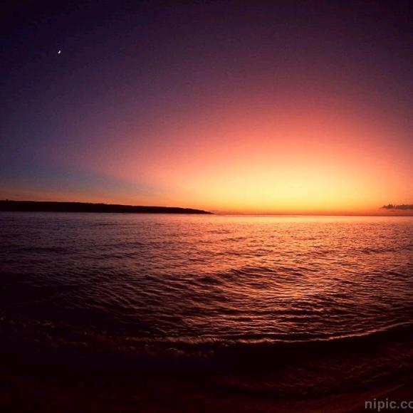 微信头像沙滩大海天空