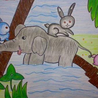 教我画可爱的小兔子