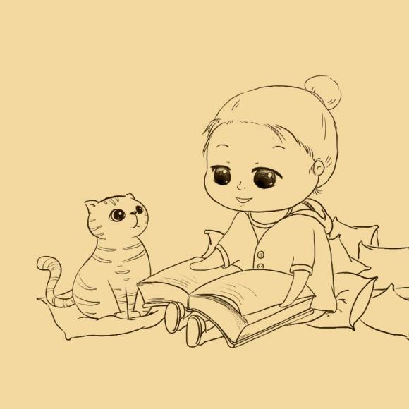 动漫 简笔画 卡通 漫画 手绘 头像 线稿 580_580