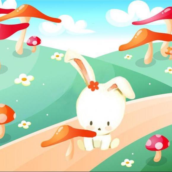 242【儿童故事】知错就改的小白兔-知错就改的小猴的故事