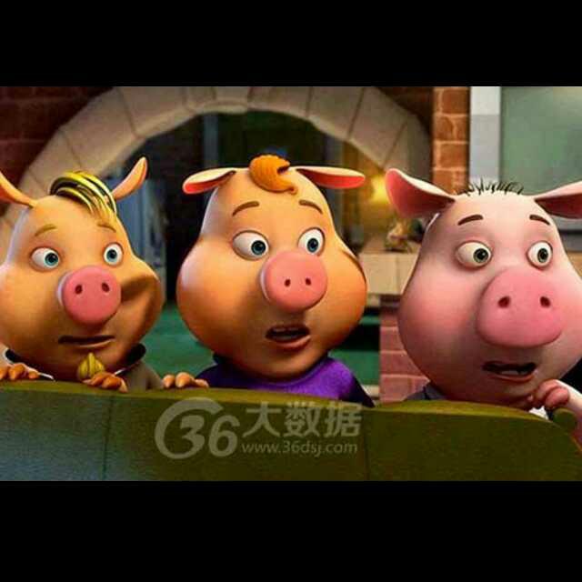 一则 三只小猪盖房子 的故事图片