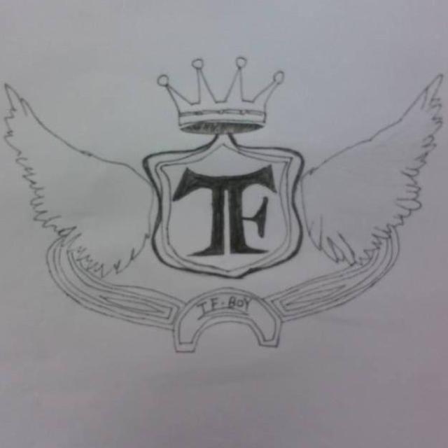 tfboys素描铅笔画像
