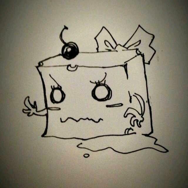 豆腐简笔画图片